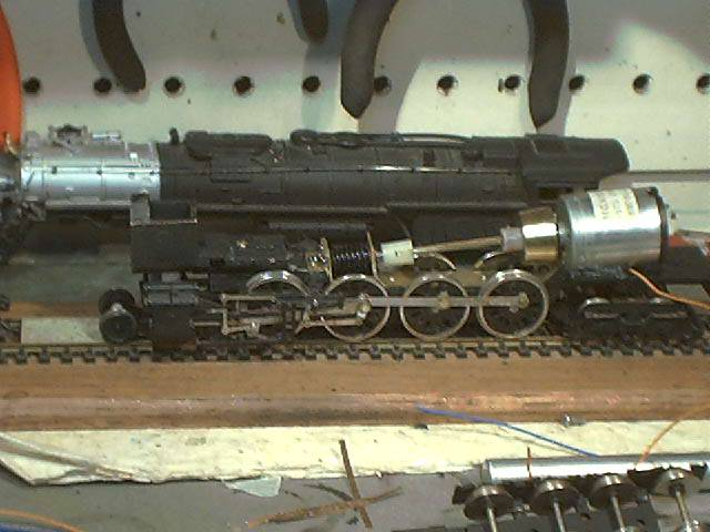 Replacement Tyco Train Engines on Mantua Motor Replacement