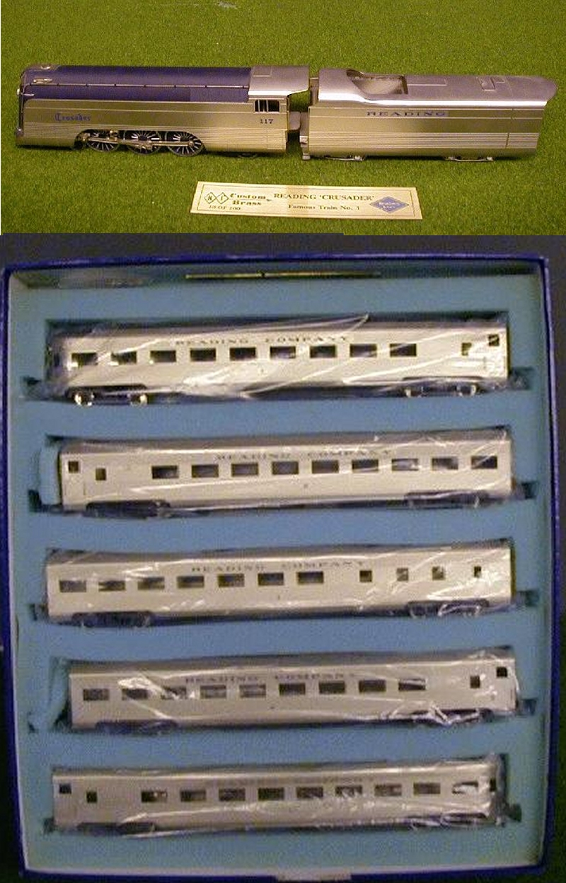 Sets Nj Custom  Sets Custom Mentioned Penn Line Produced Crusader Here39s  Mine From 1948 Tyco Trains on Sich. Sets Nj Custom  Sets Custom Mentioned Penn Line Produced Crusader