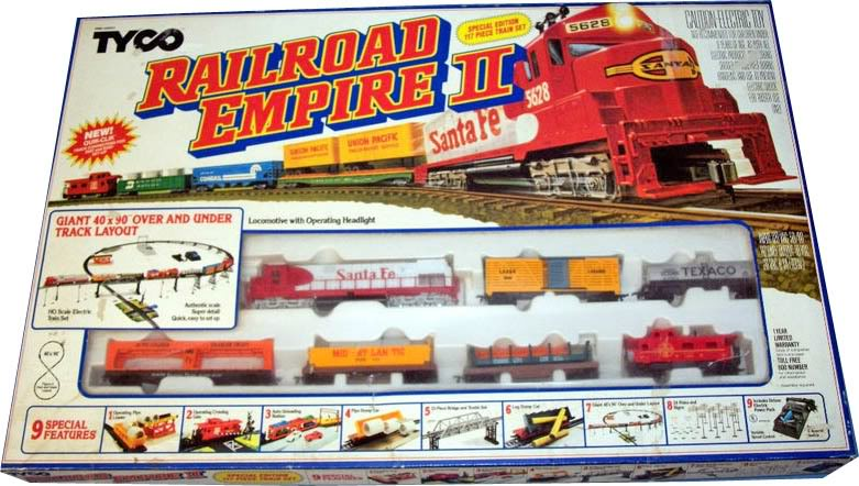 Tyco train set 1976